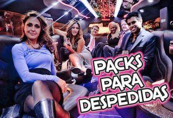 Packs para despedidas de soltero en Barcelona