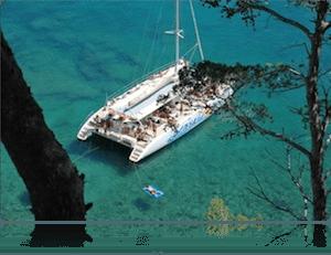 Despedidas de soltero en catamarán Tossa de Mar