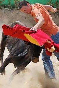 Capeas de vaquillas en Girona