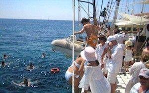 Bodas en catamarán