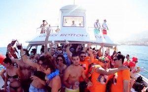 Málaga fiesta catamarán