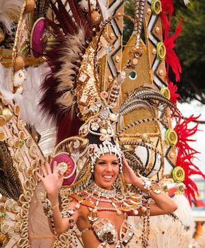 Letra de Santa Cruz en Carnaval