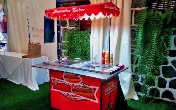Alquiler de carro de perritos calientes en Tenerife