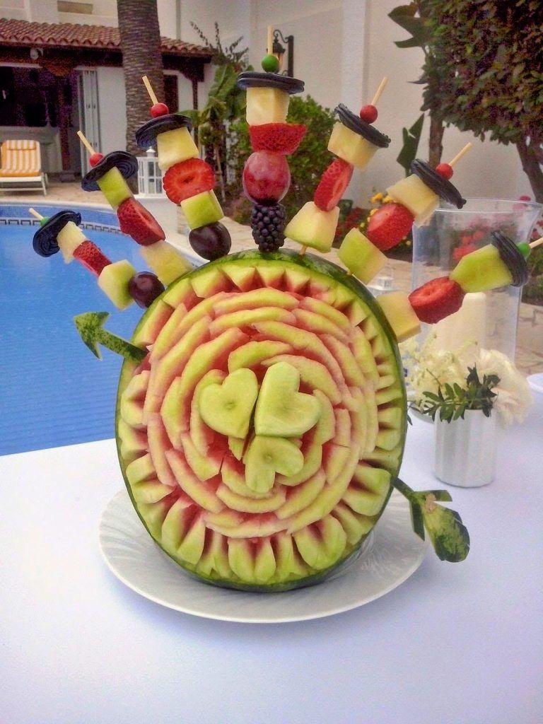 Decoraci n con frutas y verduras bodas eventos tenerife for Decoracion con verduras