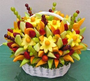 eventos decorados con frutas Tenerife