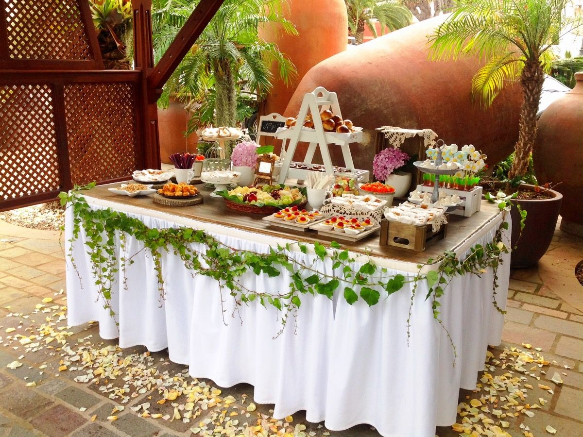 Mesa De Dulces Y Salados En Tenerife Entra Y Mira Lo Que Tenemos