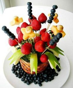 Tenerife bodas eventos decorar frutas talladas