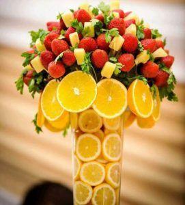 Tenerife decorar con frutas y verduras